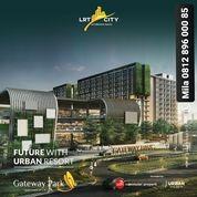 GATEWAY PARK LRT CITY APARTEMEN STUDIO BANDONEON DP 10% (25834951) di Kota Bekasi