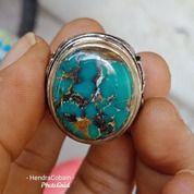 Natural Batu Pirus Persia Cincin Biru Toska Seger (25842615) di Kota Pasuruan