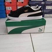 Sepatu Puma Suede Black White (25858123) di Kota Bandung