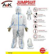 JUMSUIT WITH WATERPROOF MATERIAL & COVER SEPATU LENGKAP (Baju Pelindung Medis) (25883659) di Kota Mojokerto