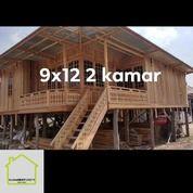 Rumah Kayu Knock Down House (25924687) di Kota Palembang