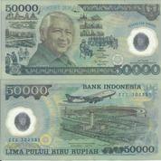 Uang Polymer Soeharto (25937507) di Kota Jakarta Pusat