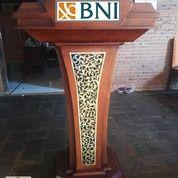 Mimbar Pidato Kayu Jati Model Minimalis (25962875) di Kota Banda Aceh