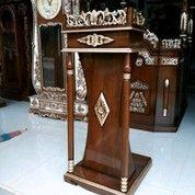 Mimbar Pidato Masjid Model Tiang Kayu Jati 01 (25962951) di Kota Banda Aceh