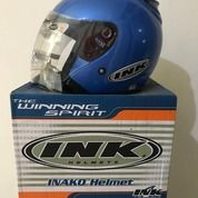 Helm INK Centro Biru Jet Solid Clear Crystal Blue (26009023) di Kab. Tangerang