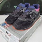 Sepatu New Balance 997 Black Purple (26014591) di Kota Bandung