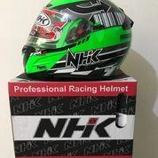 Helm NHK Seri RX 9 Series Hijau Moex Muffler Special Edition Green Flourecent Silver RX-9 RX9 (26031051) di Kab. Tangerang
