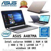 Laptop Baru Bergaransi 2 Tahun (26035443) di Kota Bandung