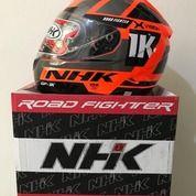 Helm NHK GP-1000 Ultra SE Series X-Vision Orange Flourecent Silver (26041795) di Kab. Tangerang