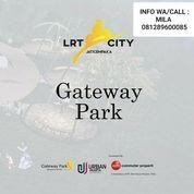 Gateway Park Of Lrt City Unit Studio Ready Cukup Dengan Modal 5% Kawasan Mall GWP (26042139) di Kota Bekasi