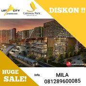 Unit Studio Apartemen Gateway Park Of Lrt City Unit Ready Dan Siap Huni Kawasan Mall (26042767) di Kota Bekasi
