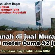 Kavling Pinggir Jalan Harga Murah Di Bogor (26047239) di Kota Bekasi