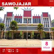 Gedung Hotel 22 Kamar Luas 398 Di Sawojajar Kota Malang _ 80.19 (26060347) di Kota Malang