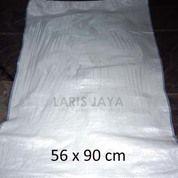 Karung Plastik Putih 50 Kg Ukuran 56 X 90 Cm (26075903) di Kota Semarang