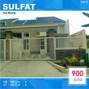 Rumah Murah 2 Lantai Luas 103 Di Sulfat Utara Kota Malang _ 263.19 (26076891) di Kota Malang