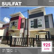 Rumah Baru 2 Lantai Luas 90 Di Sulfat Utara Kota Malang _ 637.19 (26078499) di Kota Malang