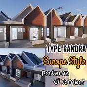 Hunian Desain Eropa | Jember Sumbersari | Grand Sriwijaya Cluster (26078995) di Kab. Jember