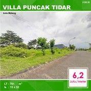 Tanah Kavling Luas 781 Di Villa Puncak Tidar Kota Malang _ 262.20 (26079359) di Kota Malang