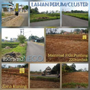 Lahan Peruntukan Perumahan & Cluster 850rb/M Mainroad Jalan (26085151) di Kota Bandung