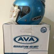 Helm AVA Blue SS7 Biru (26088827) di Kab. Tangerang