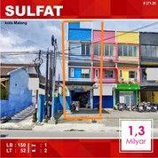 Ruko 3 Lantai Luas 52 Di Raya Sulfat Kota Malang _ 271.20 (26095679) di Kota Malang