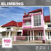 Rumah Murah Luas 81 Di Plaosan Timur Blimbing Kota Malang _ 107.19 (26098631) di Kota Malang