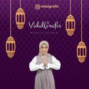 Jasa Pembuatan Ucapan Idul Fitri Digital Statis Dan Animasi Video (26101183) di Kota Bandung