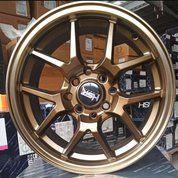 Velg Mobil Ring 15 Pelek Racing HYURA BOROKO 02 HSR - Datsun Go+ Panca (26101967) di Kota Cilegon