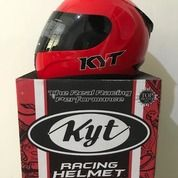 Helm KYT R-10 Merah Solid Red R10 R 10 (26104391) di Kab. Tangerang