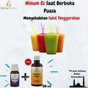 Minum Es Saat Berbuka Puasa Menyebabkan Sakit Tenggorokan (26106491) di Kota Tangerang