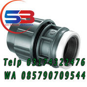 "Fitting Compression HDPE Female Thread 3"" (26118411) di Kab. Manggarai"