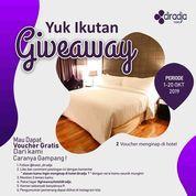HOTEL DIRADJA PROMO GIVEAWAY 2 VOUCHER HOTEL 1 MALAM (26123815) di Kota Jakarta Selatan