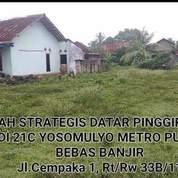Tanah Murah Bebas Banjir (26125331) di Kota Metro