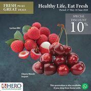 Hero Supermarket Healthy Life Eat Fresh Special Discount (26126459) di Kota Jakarta Selatan