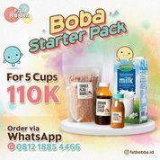 FAT BOBBA PROMO BOBA STARTER PACK Paket DIY Fat Bobba 5 CUP ONLY RP 110.000 (26126851) di Kota Jakarta Selatan