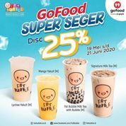 FAT BUBBLE Gofood Super Seger Disc. 25% (26134639) di Kota Jakarta Selatan