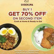 Shirokuma Cafe Buy 1 Get 70% Off On Second Item (26134747) di Kota Jakarta Selatan
