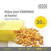 FLIX Cinema Enjoy Your Cravings At Home 30% Off (26134835) di Kota Jakarta Selatan