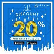 Okhome Cleaning Discount 20% (26135159) di Kota Jakarta Selatan