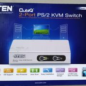 ATEN Cubiq KVM Switch PS2 PS/2 + VGA 2Port CS72E - NEW MURAH !!! (26139719) di Kota Jakarta Timur