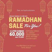 DELUCEUS RAMADHAN SALE ONLY RP 60.000 / 1000ML (26140655) di Kota Surabaya