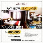 VALORE HOTEL PAY NOW STAY LATER PROMO (26140687) di Kota Bandung