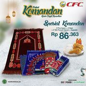 CFC PAKET KOMANDAN KOMBO ASIK RAMADHAN (26140819) di Kota Jakarta Selatan