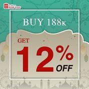 Miniso Buy 188K Get 12% Off (26148099) di Kota Jakarta Selatan