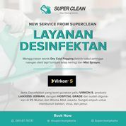 Superclean Jakarta Layanan Desinfektan (26148103) di Kota Jakarta Selatan
