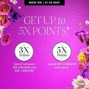 SEPHORA Beauty Pass Members 5X POINTS PROMO ONLINE PURCHASE (26154931) di Kota Jakarta Selatan