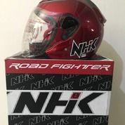 Helm NHK Red Maroon R6 Merah Marun (26155647) di Kab. Tangerang