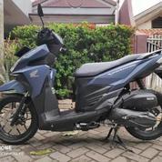 Motor Honda Vario Bekas Tahun 2018,Warna Biru Dongker,Harga Murah. (26161007) di Kota Medan