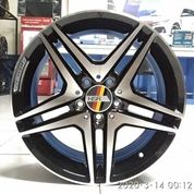 Velg Mobil Velek Racing HSR ANTLERS H1303 Ring 17 Baut 5 Mercy BRV Ertiga Dll (26165691) di Kota Semarang
