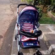 Stroller Pliko Bekas Seperti Baru (26166351) di Kota Padang